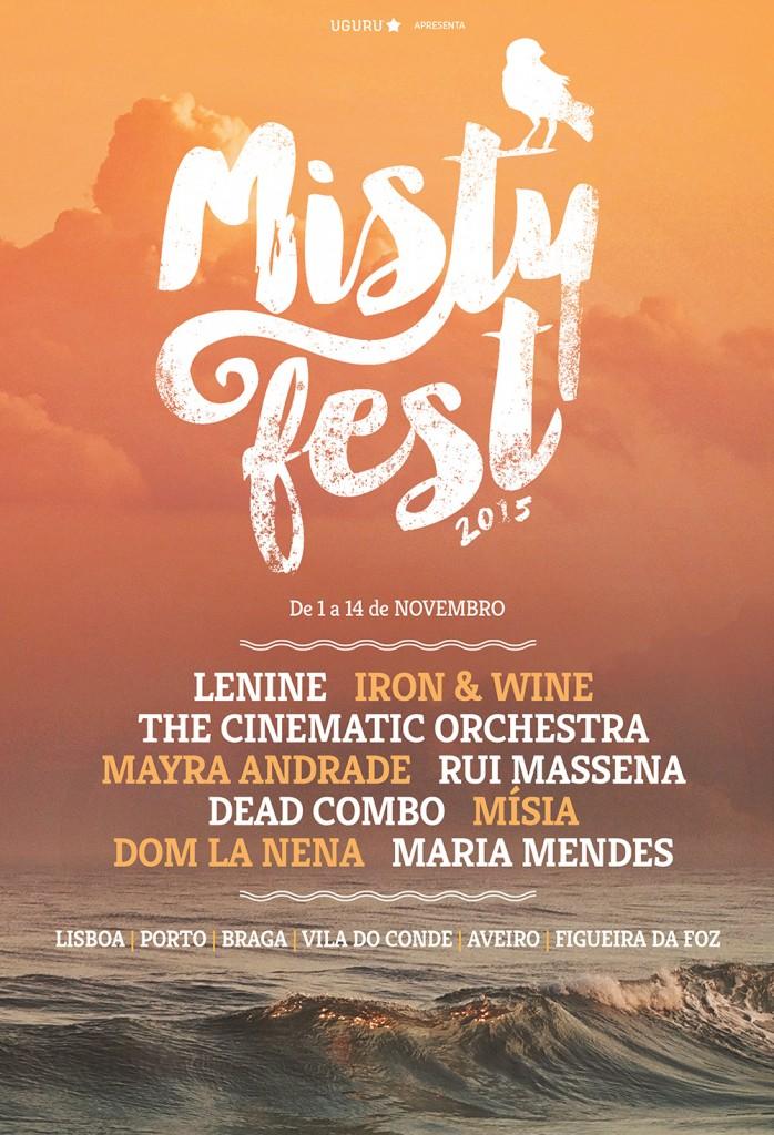 cartaz Misty Fest 2015